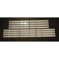 TCL 55S403 LED Strips (8) YHF-4C-LB5505-YH07J/LB5504