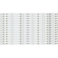 Vizio 2K15-550-D712-V6 Replacement LED Strips (14) D55u-D1