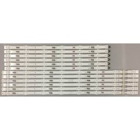 Samsung BN96-40099A/BN96-40100A Replacement LED Backlight Strips (12)