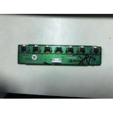 TOSHIBA 40RF350U BUTTON ASSEMBLY 75008578 , PE0452A-4