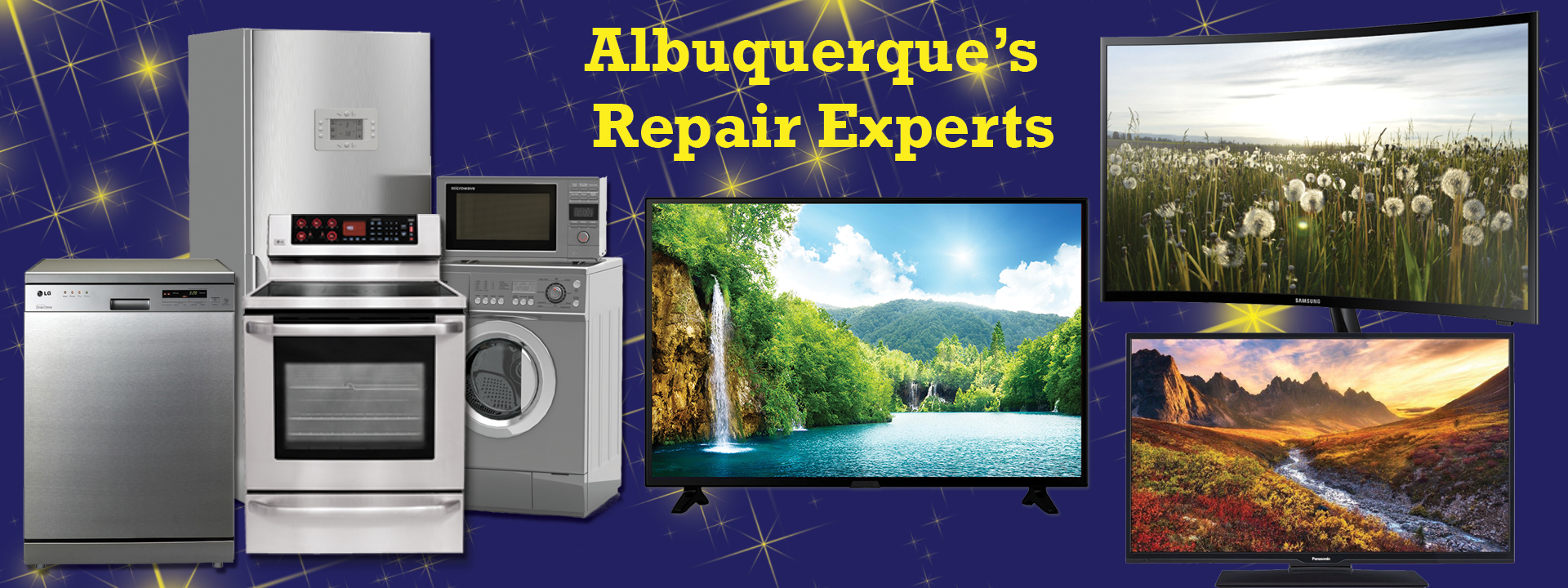 appliance and television repair in Albuquerque, NM